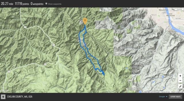 Devils Gulch Mission Ridge